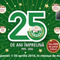 25 DE ANI ÎMPREUNĂ!